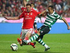 Jefferson v Benfica na Luz onde o Sporting venceu por 3-0