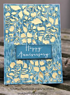 #stampinup #anniversarycards #floralphrases Gorgeous dies and stamps from floral phrases - timeless love by UK Stampin Up demo Zoe Tant www.facebook.com/zoetant