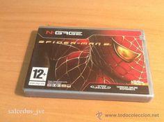 Spider-man 2 Spiderman juego para Nokia Ngage N-Gage Completo Versión Española