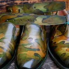 Military Patina by Dandy Shoe care
