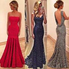 Trumpet or mermaid dresses are the most flattering for an hourglass shape.