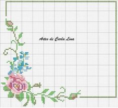 This Pin was discovered by Ban Butterfly Cross Stitch, Beaded Cross Stitch, Cross Stitch Rose, Cross Stitch Flowers, Cross Stitch Embroidery, Cross Stitch Alphabet Patterns, Cross Stitch Borders, Cross Stitch Designs, Cross Stitching