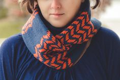 flambeau pattern by sara gresbach / in quince & co. chickadee