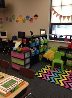 The Bubbly Blonde: My **almost** finished classroom.