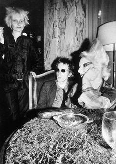 Vivienne Westwood, John Lydon and model/muse Jordan, 1976