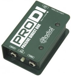 Radial Pro DI http://ehomerecordingstudio.com/recording-guitar-bass-keyboards-drums/