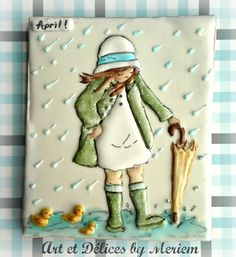 April Showers Cookies // Art et Délices by Meriem