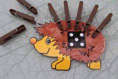Ježek s bodlinkama /Návody pro tvoření |ProMaminky.cz French Teaching Resources, Fall Preschool, Primary Maths, Love Math, Math Art, Montessori Activities, Beginning Of School, Numeracy, Projects For Kids