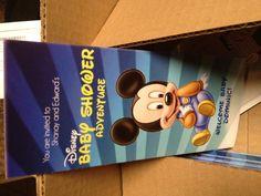 Disney Themed Baby Shower Invites (found-shanaysmith's shop on #etsy http://etsy.me/17Y2CmF)