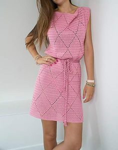 Diamond Dress Free Crochet Pattern | Free Crochet Patterns