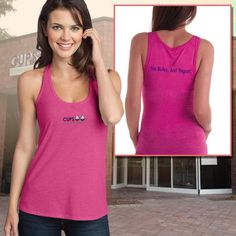 Kavio Ladies Beater Tank - No Rules, Just Yogurt