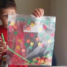 "4,361 Me gusta, 101 comentarios - Montessori Etkinlikleri (@montessorietkinlikleri) en Instagram: ""Rüzgarla savrulan sonbahar yaprakları 😉🍁🍂🍁 repost @3cicekannesi . . . . . . . . . . . . #montessori…"""