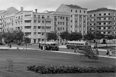 Lisboa50_Alameda-de-Dom-Afonso-Henriques-768×568 Historical Photos, Lisbon, The Neighbourhood, Dolores Park, Street View, Travel, 1950, Buildings, Vintage