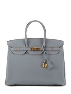 24be2bb2ce94 be still my heart Hermès Blue Lin Togo Birkin. What others are saying.