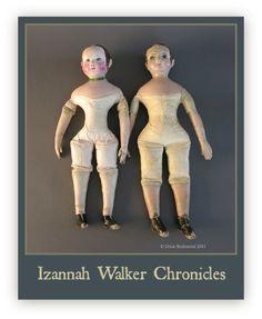 Izannah Walker Chronicles: Izannah Walker Doll Body Designs