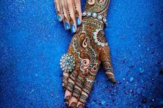 Colored Mehendi