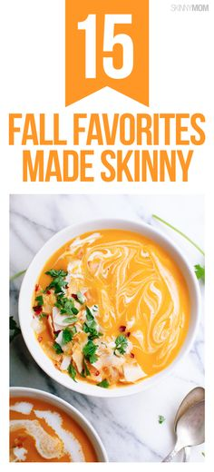 Healthy fall favorite foods