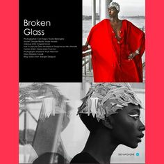 """""""BROKEN GLASS"""" #fashion editorial #CariPaige #360Magazine http://the360mag.com/issue.html"""