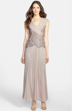 Patra Venice Lace & Chiffon Dress available at #Nordstrom $198 Do you like this @Joann Augustine  for yourself?