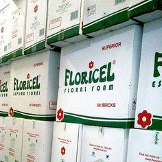 Caja de 48 tabiques de #espumafloral #FLORICEL