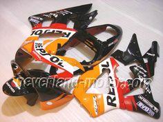 Carenado de ABS de Honda CBR900RR 929 2000-2001 - Repsol