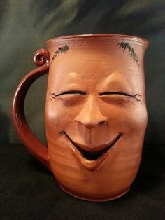 1000+ images about Clay - Face jugs/mugs/etc. on Pinterest | Face ...