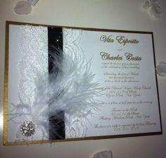 Great Gatsby Invitation Gatsby Pinterest Invitations Gatsby