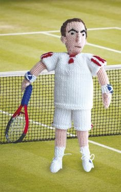 Knit your own Andy Murray - free knitting pattern to download over the Let's Knit website!