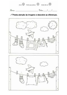 Find 5 missing things about this picture. Preschool Learning, Kindergarten Worksheets, Worksheets For Kids, Preschool Crafts, Learning Activities, Preschool Activities, Hidden Pictures, Pre School, Find 5