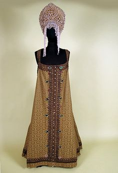 Lady's Russian Festival Dress, Late 19th C Session 2 - Lot 430