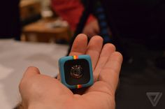 Polaroid unveils an adorable, tiny cube camera for action shots | The Verge