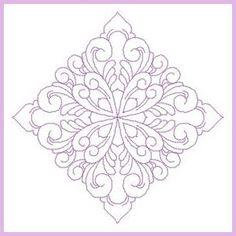 Quilt Swirls 10 - Free Instant Machine Embroidery Designs