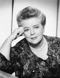 """Frances Bavier,most noted for her performance as """"Aunt Bee"""" on the Andy Griffith Show TV series"""