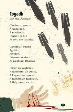 07 Irish Poems, Gaelic Words, Irish Language, Scottish Gaelic, Teaching Literature, Poetry Books, Primary School, Sagittarius, Languages
