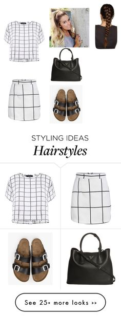 """""""Oldies look"""" by jess2k20 on Polyvore featuring Myne, Birkenstock and Prada"""