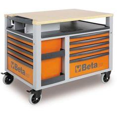 Beta Tools 2800 O/VG2T Super Tank Roller Cabinet C28 O + 212 PCS
