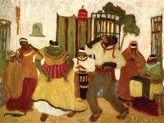 Nostalgias africanas, de Pedro Figari