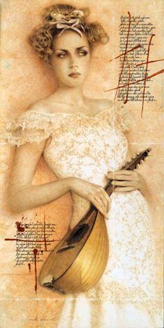 """Saatchi Art Artist Walter Girotto; Painting, """"ATTESA"""" #art"""