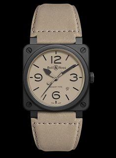La boîte à montre: BELL AND ROSS BR 03 Desert Type