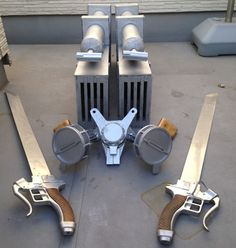 Real, functional Attack on Titan swords: This man's year-long project will blow your mind