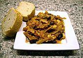Afrikanischer Erdnusseintopf