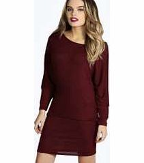 boohoo Marl Fine Knit Oversized Batwing Dress - berry No off-duty wardrobe is complete without a casual day dress. Basic bodycon dresses are always a winner and casual cami dresses a key piece for pairing with a polo neck , giving you that effortless eve http://www.comparestoreprices.co.uk/dresses/boohoo-marl-fine-knit-oversized-batwing-dress--berry.asp