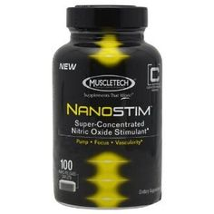 MuscleTech Super Concentrated Series Nanostim Nitric Oxide Supplement 100 Caps * You can get more details by clicking on the image.