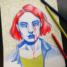 Crayons de couleur Crayons, Adele, Sketches, Photo And Video, Videos, Instagram, Art, Color Pencil Picture, Drawings