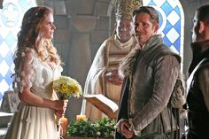 The Wicked Witch and Robin Hood are sticking around!  Rebecca Mader and Sean Maguire have both been promoted to series regulars for the upcoming fifth season of Once Upon a Time