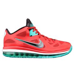 e41bb6e950f8 Nike LeBron 9 Low Liverpool Action Red Black White New Green