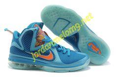 Nike Zoom Lebron IX Fire Lion Royal Moon Orange 469764 800 d5ba234f5
