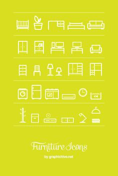 Free Furniture Icons [[MORE]] Download
