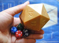 Handmade Dice Soap wit mystery dice Inside Christmas gift