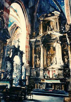 Paul Dmoch - Collatéral - fragment, Eglise de Notre-Dame